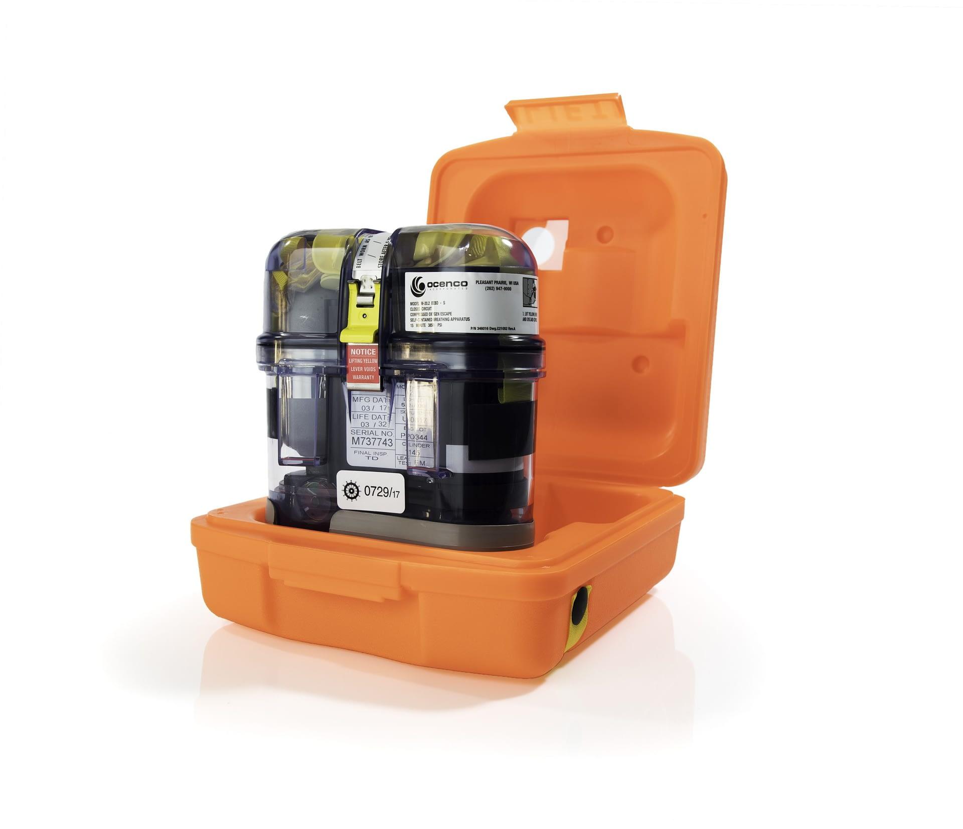 Ocenco Emergency Escape Breathing Device (EEBD) M20.2 with bracket  TC/SOLAS