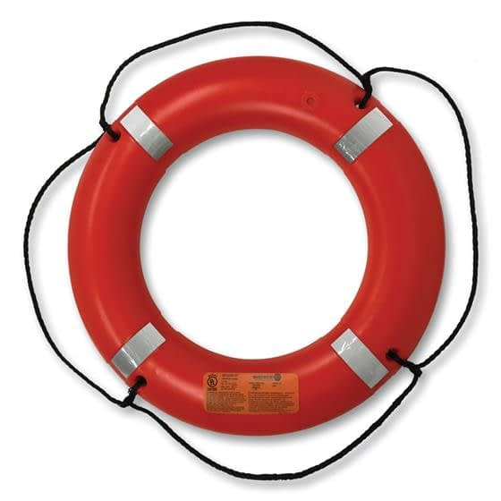 Life Ring, 30 inch,Orange, T.C. approved