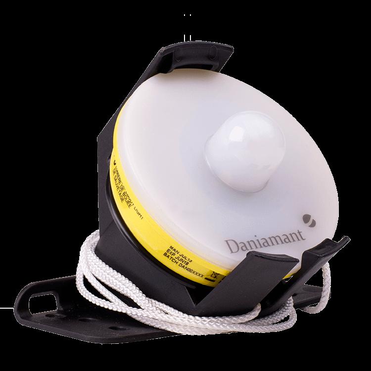 Lifebuoy light w/bracket, L170, T.C. approved